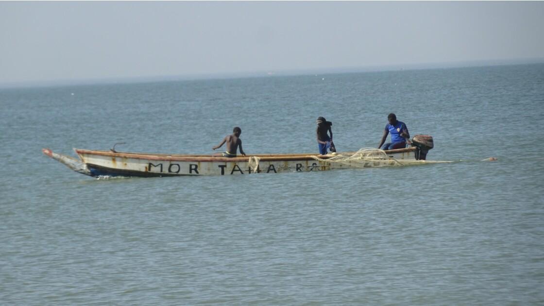 Sénégal entre Saly et Mbour pose des filets 2