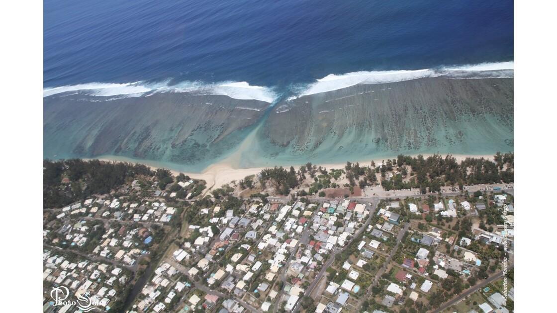 Plages et Lagons de l'Ermitage (Ile de La Réunion)