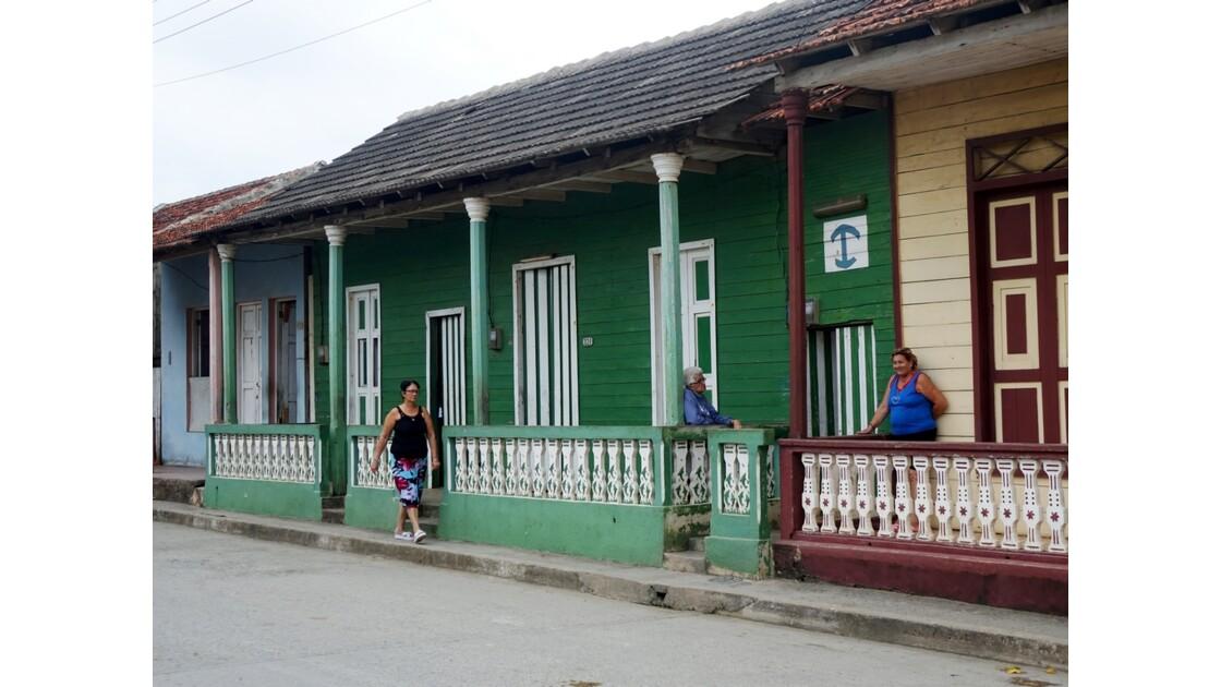 Cuba maisons typiques de Baracoa 1