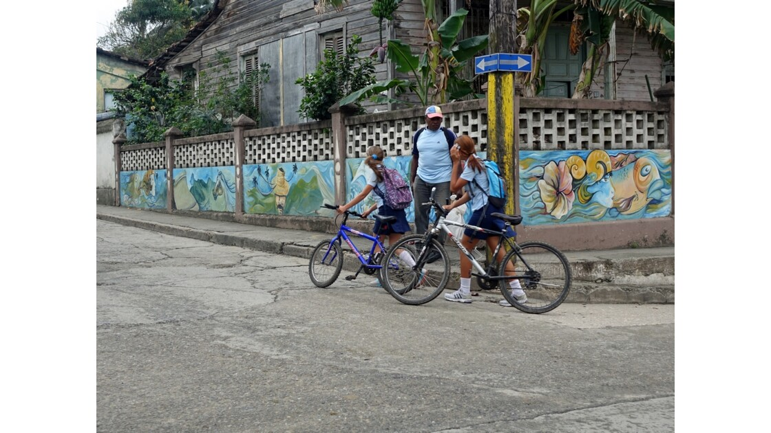 Cuba Baracoa retour de classe 2