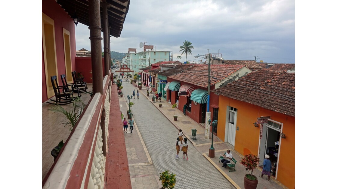 Cuba Baracoa rue piétonne 1