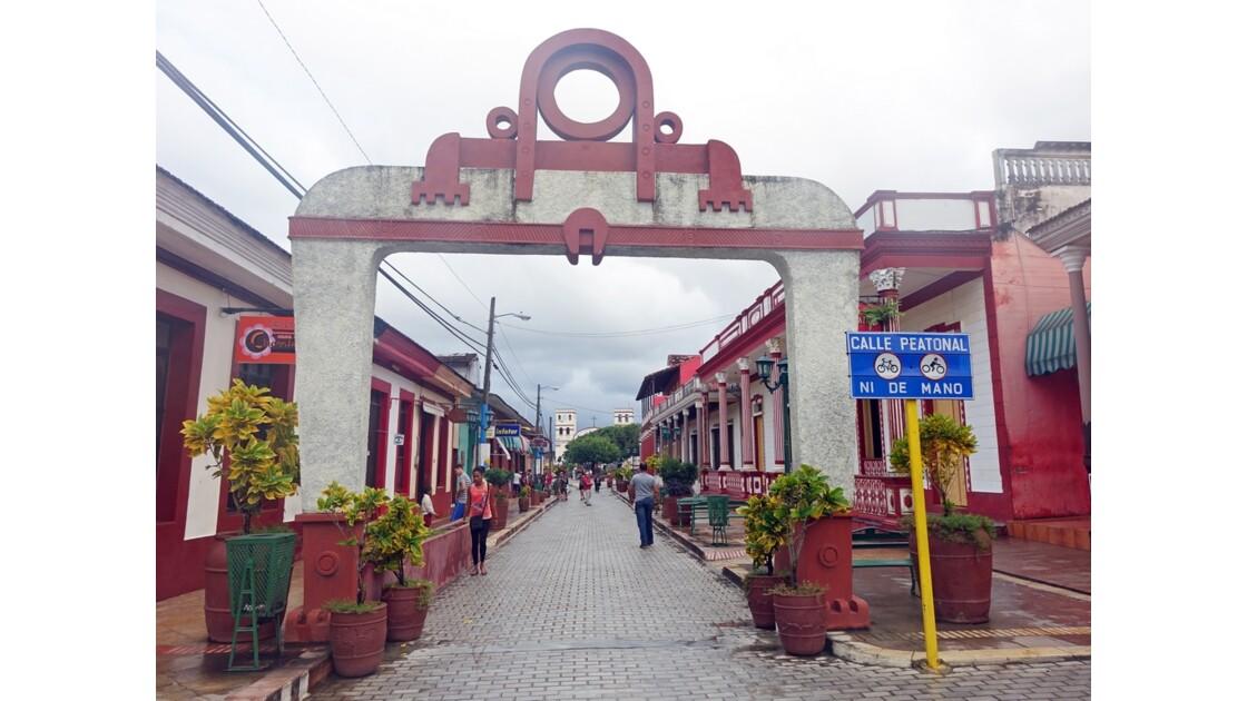 Cuba Baracoa rue piétonne 2