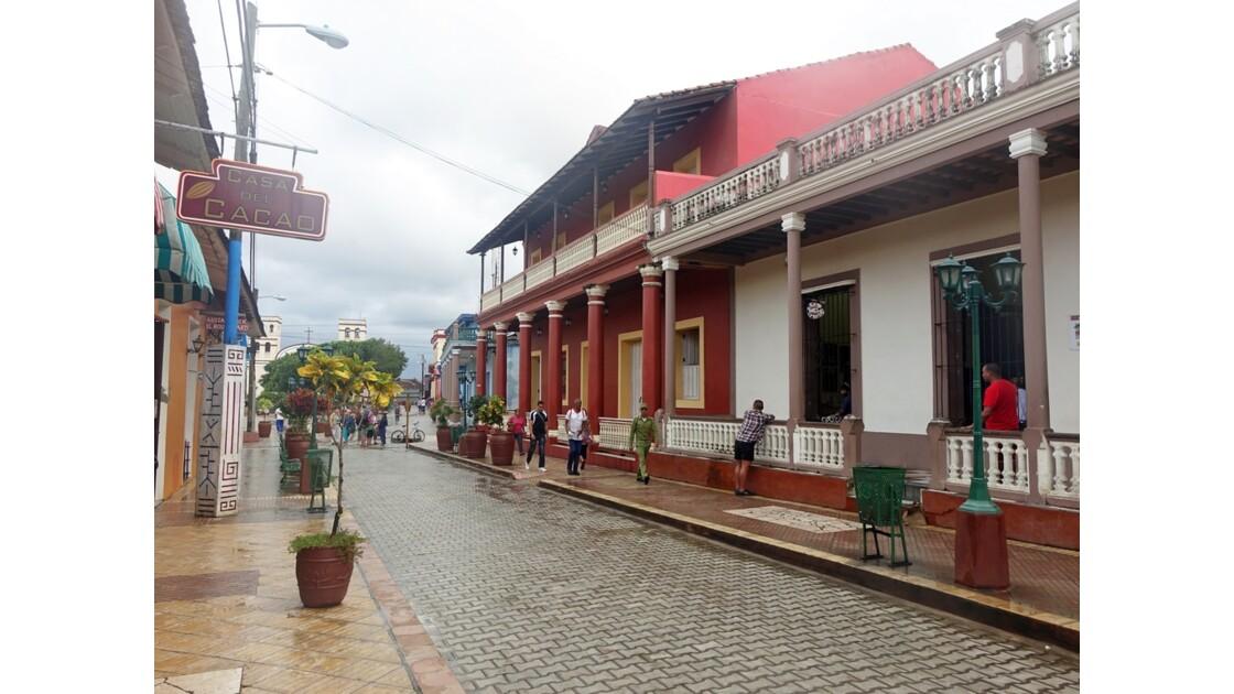 Cuba Baracoa rue piétonne 3