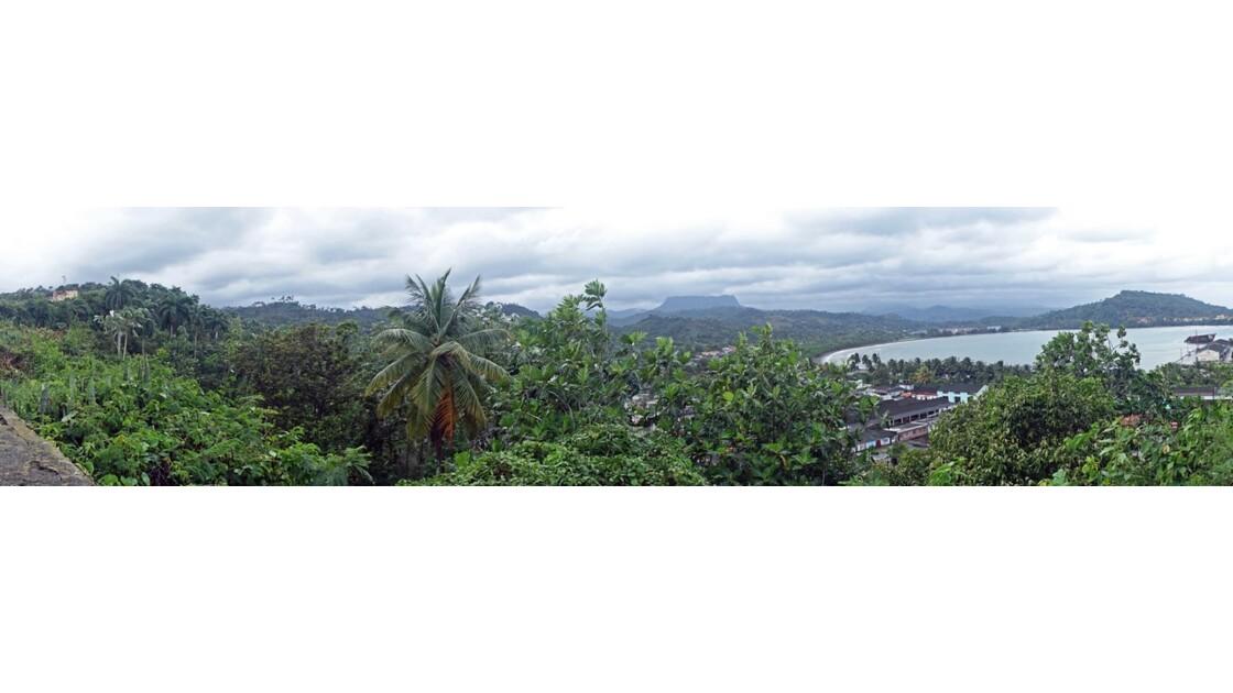Cuba Baracoa El Yunque vu du Castillo