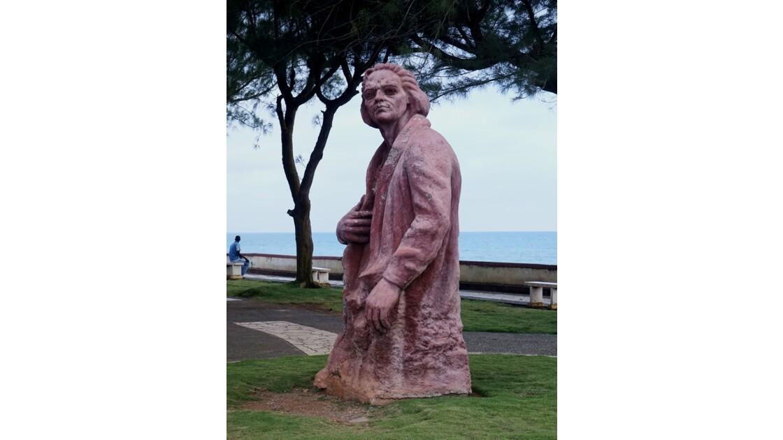 Cuba Baracoa Statue de Colomb 1