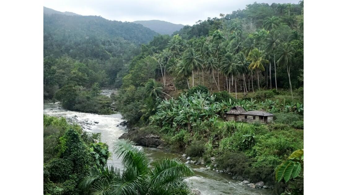 Cuba Sendero El Yunque le rio Duaba 2