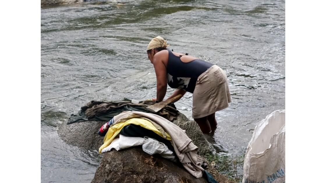 Cuba la lavandière du Rio Duaba 3