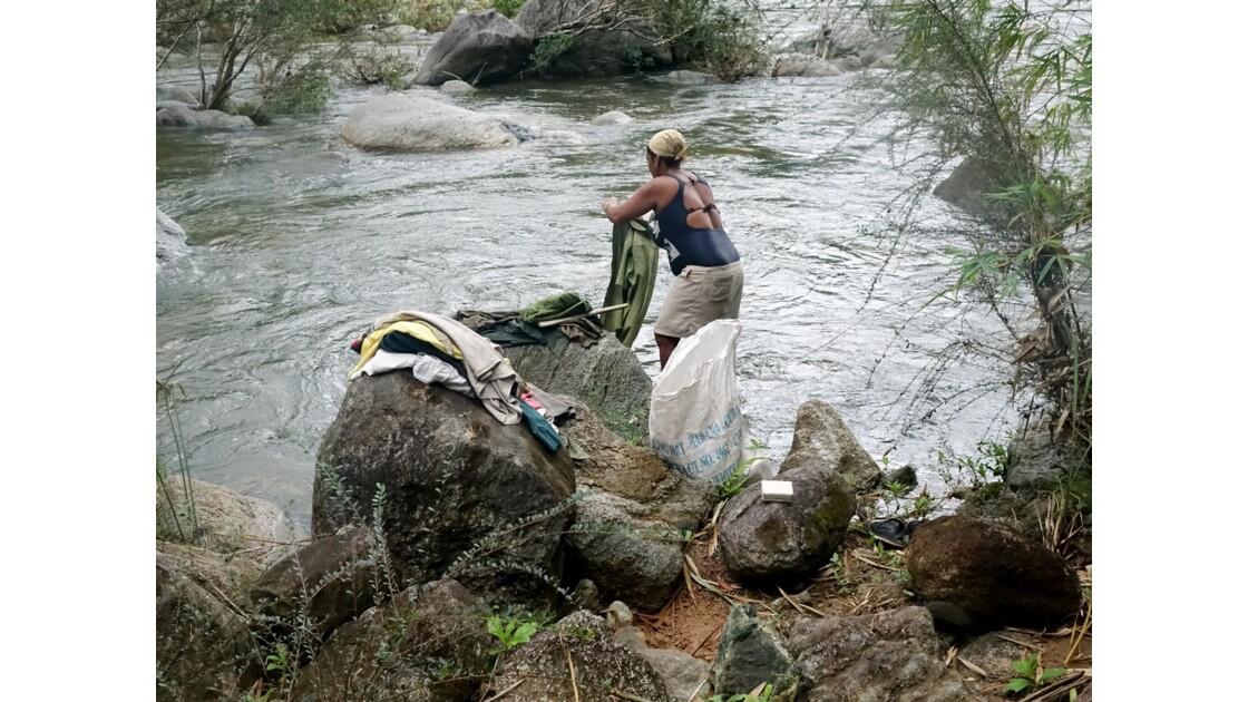 Cuba la lavandière du Rio Duaba 4