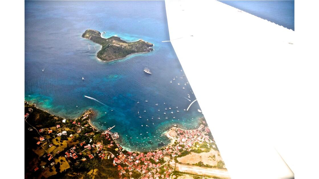 L'archipel des Saintes, vu du ciel