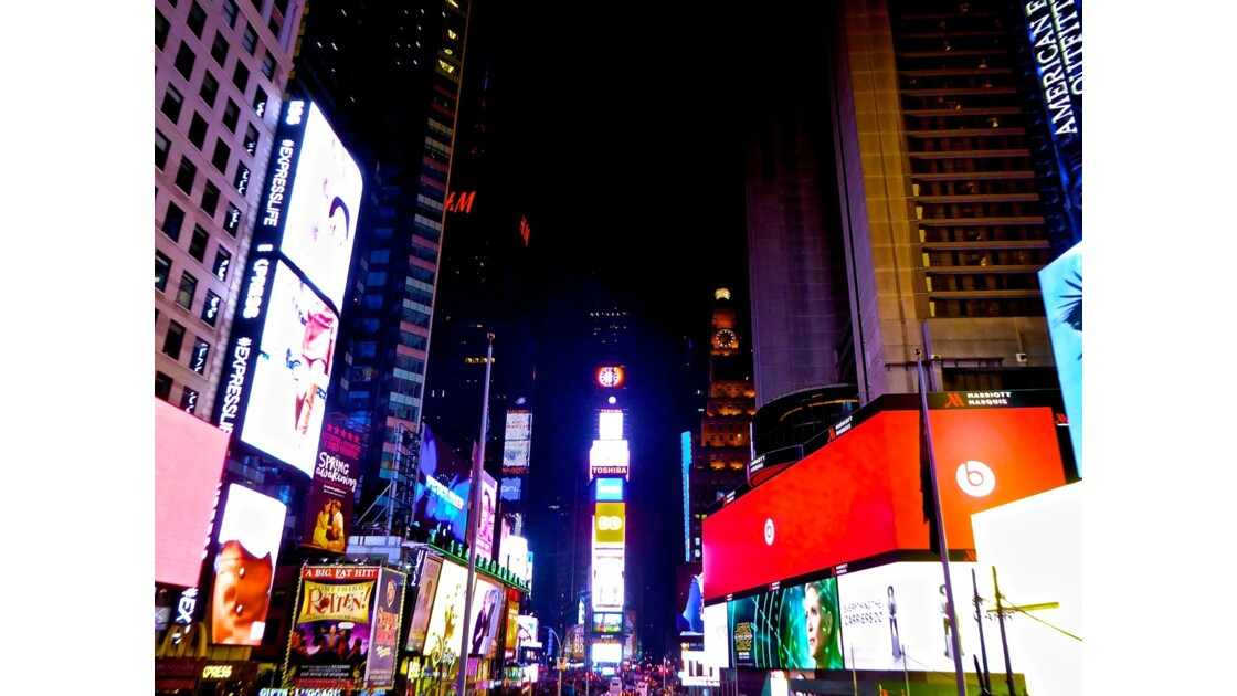 New york : la ville qui ne dort jamais !