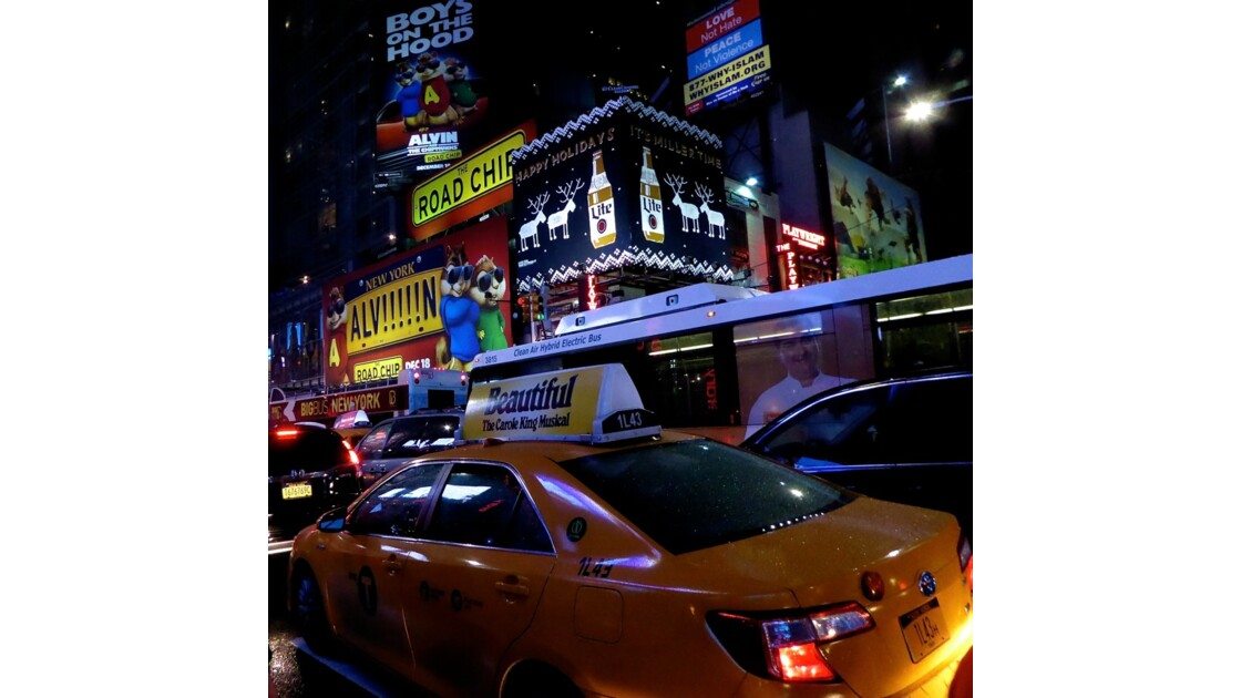 New York, la ville qui ne dort jamais !