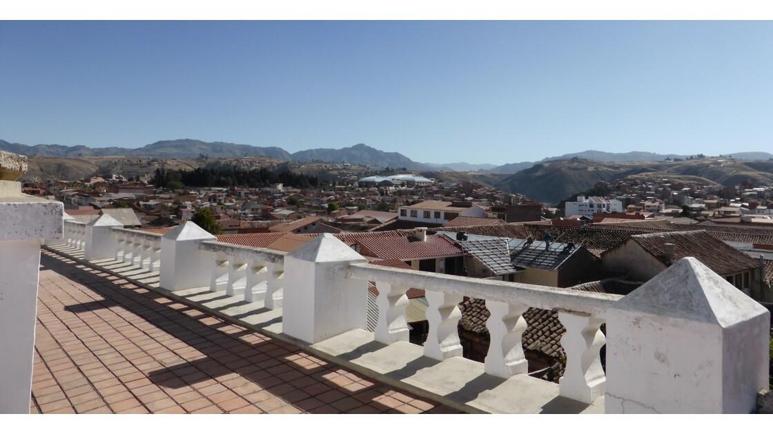 Sur les toits de Sucre