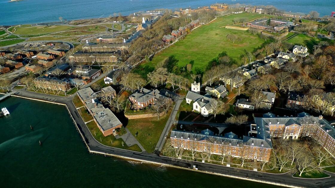 Ellis Island, ancien centre de réception des immigrés