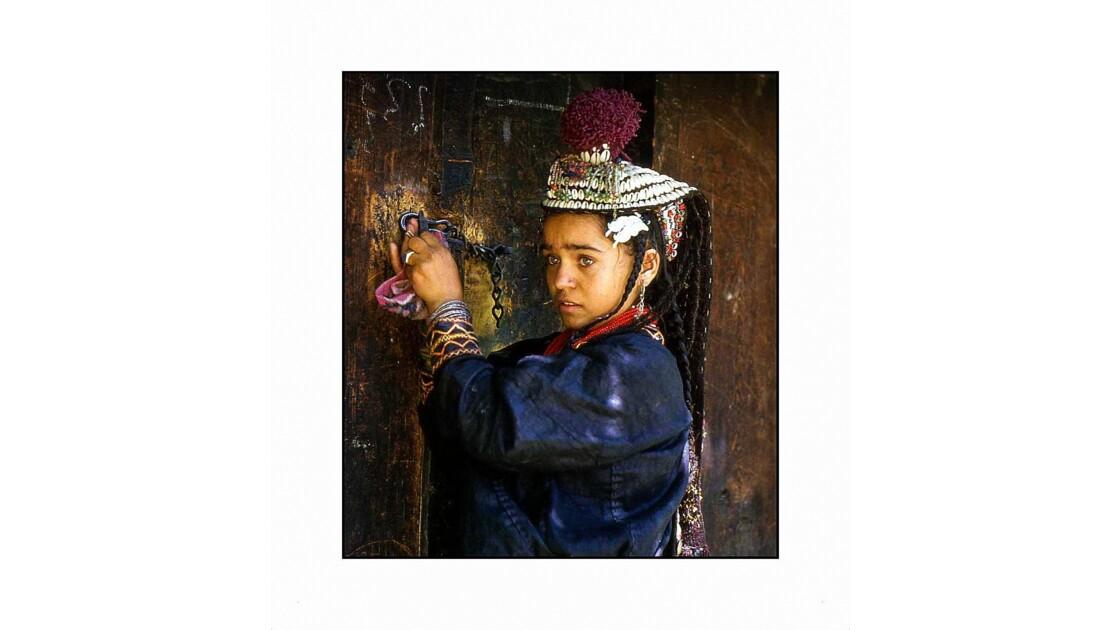 portrait de jeune Kalash