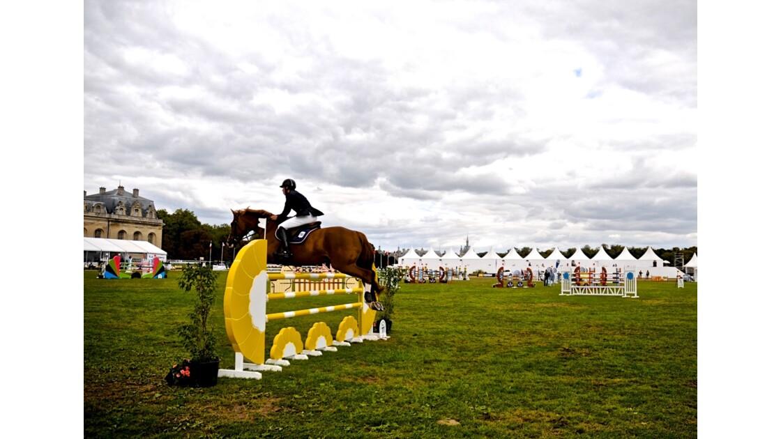 Concours hippiques à Chantilly