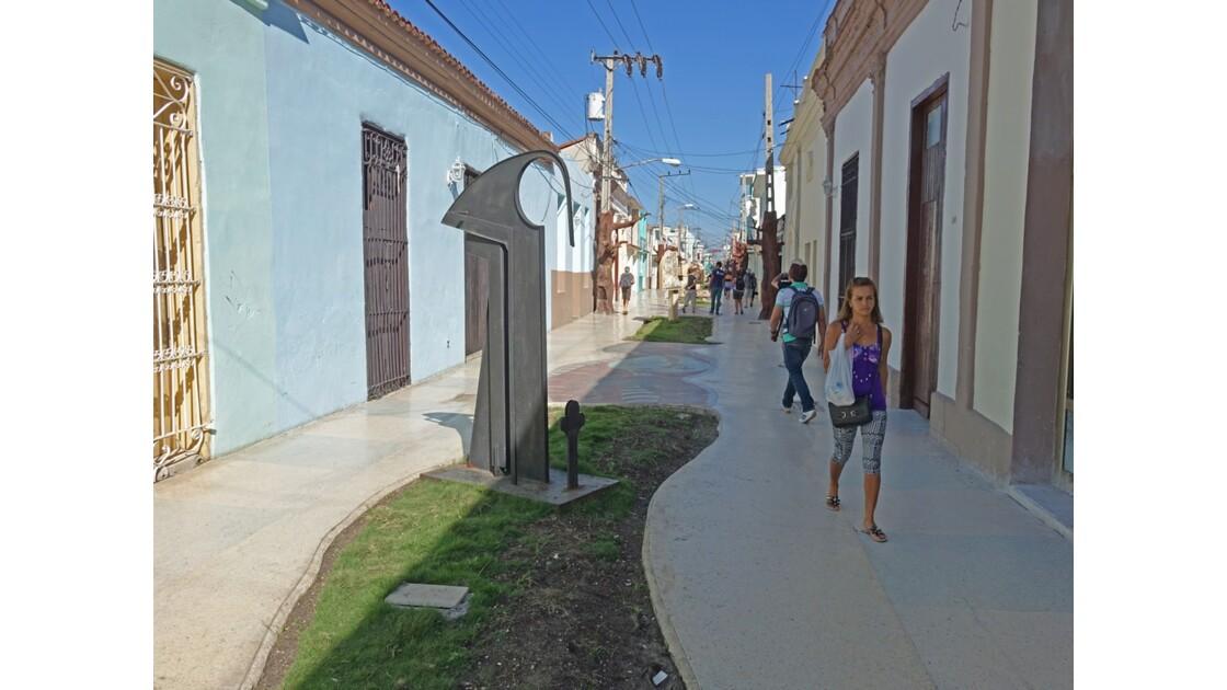 Cuba Bayamo rue piétonne 1