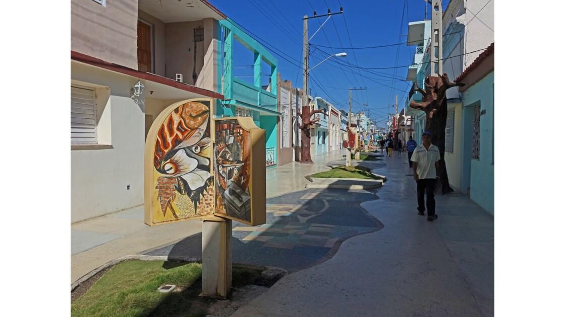 Cuba Bayamo rue piétonne 4