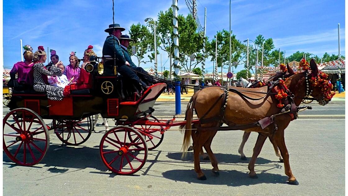 La Feria de Séville : Un rassemblement de couleurs, de danses et de joies simples, aux racines paysannes.