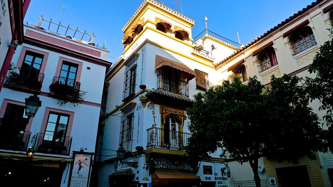 Séville, quartier de Santa Cruz