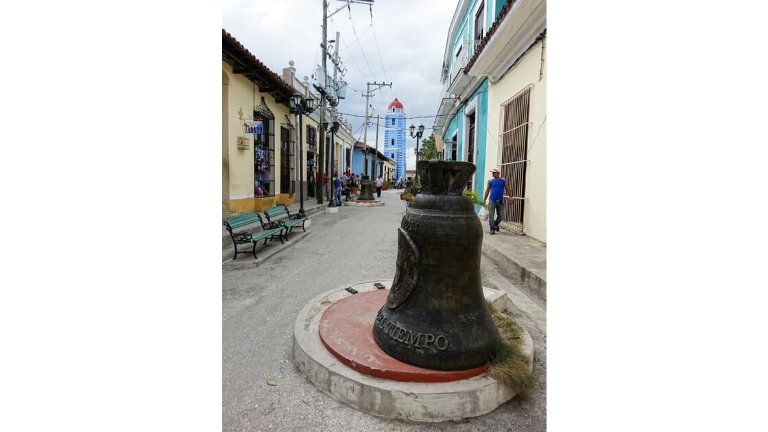 Cuba Sancti Spiritus Rue piétonne Iglesia Mayor 3