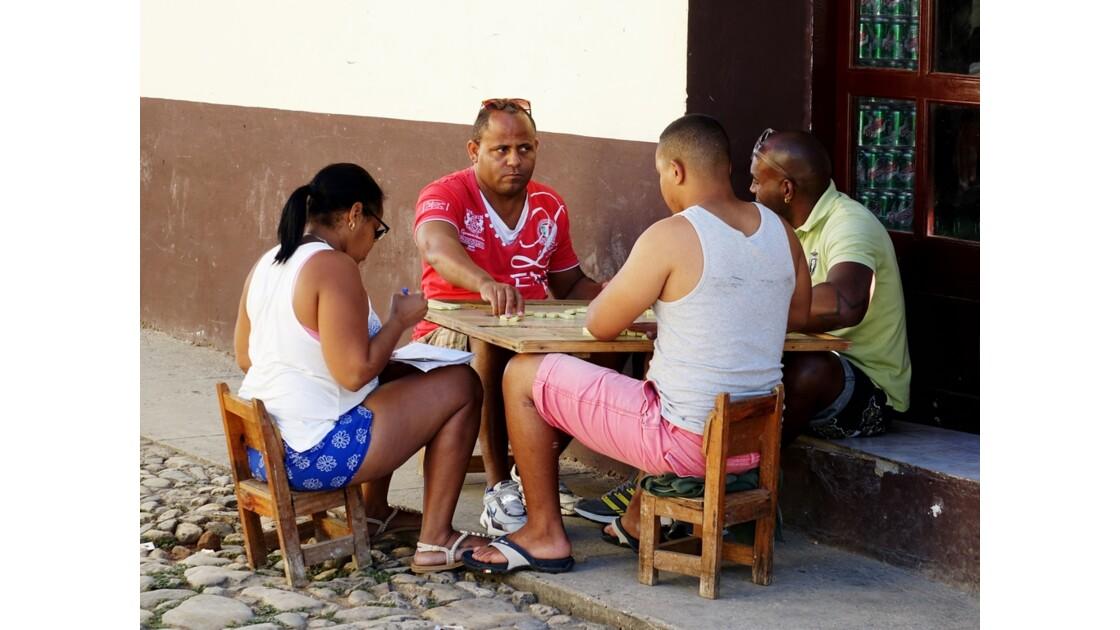 Cuba Trinidad Dominos 2
