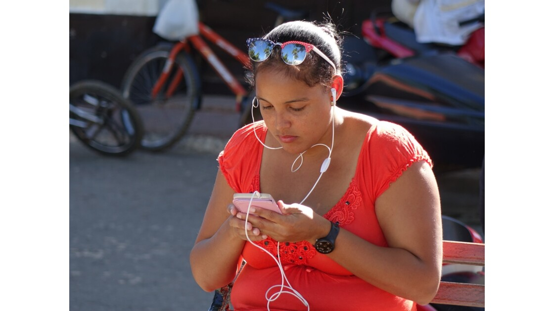 Cuba Trinidad Wi-Fi sur le Parque Cespededes 1