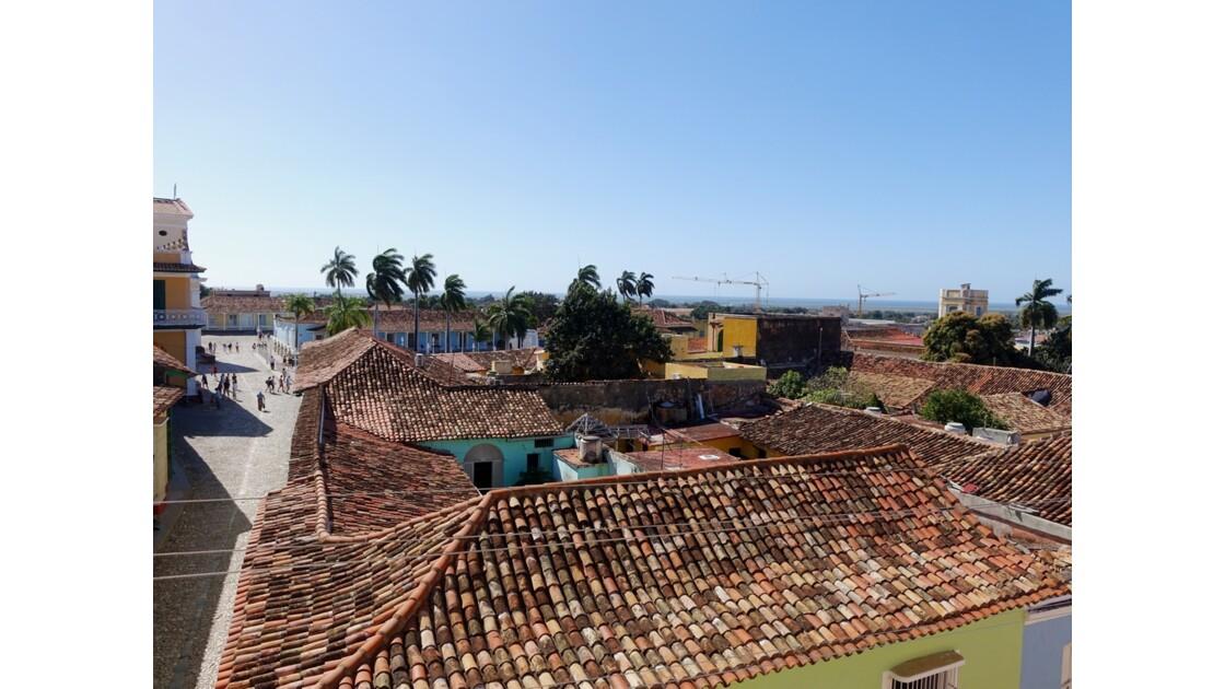 Cuba Trinidad vue de l'Iglesia de San Francisco de Assis 2