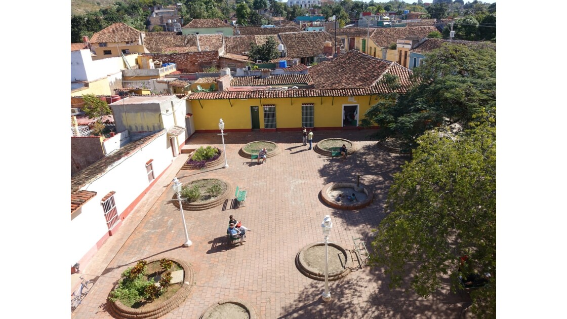 Cuba Trinidad vue de l'Iglesia de San Francisco de Assis 3