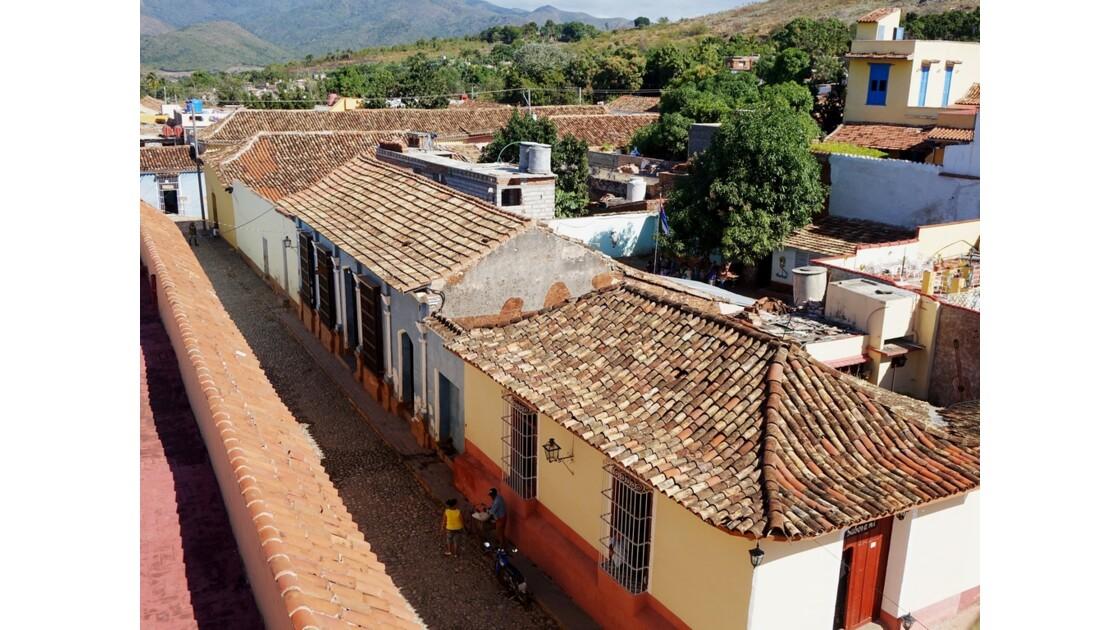 Cuba Trinidad vue de l'Iglesia de San Francisco de Assis 5