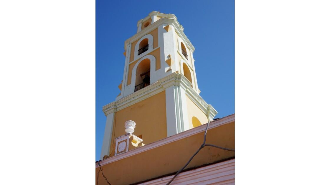 Cuba Trinidad Clocher de l'Iglesia de San Francisco de Assis