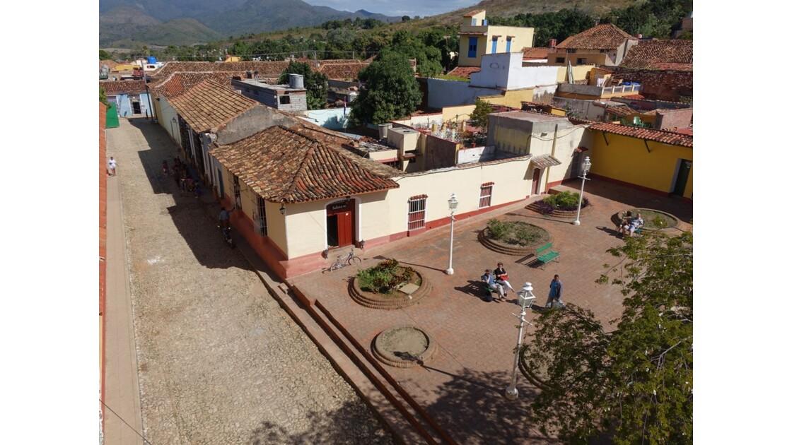 Cuba Trinidad vue de l'Iglesia de San Francisco de Assis 1