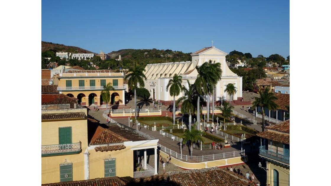 Cuba Trinidad Plaza Mayor vue du Museo Historico 1