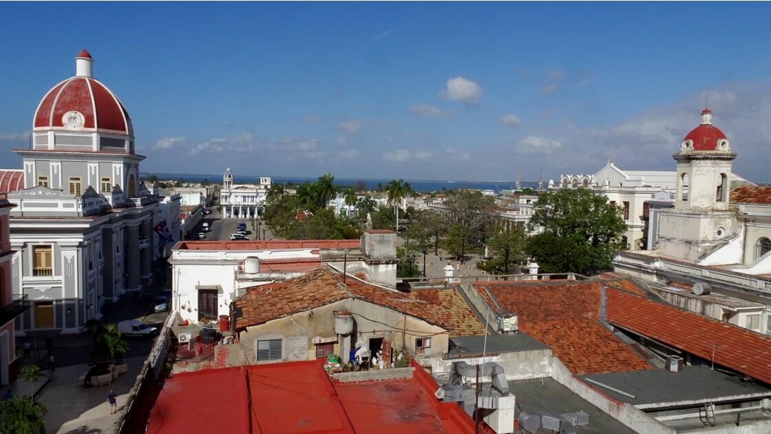 Cuba Cienfuegos Vue de l'hôtel La Union 1
