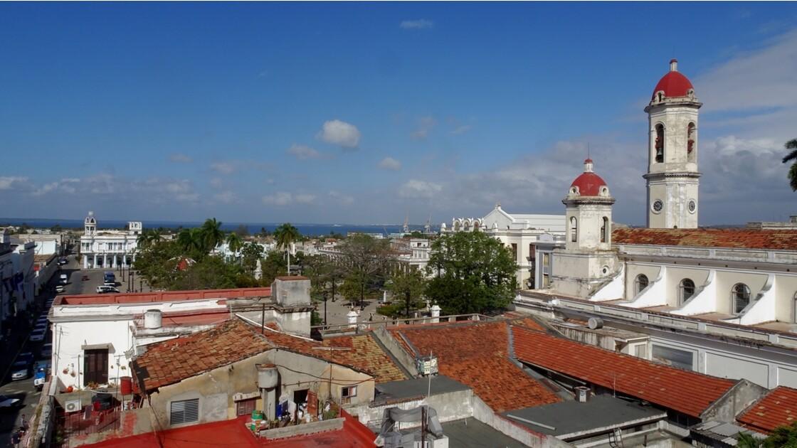 Cuba Cienfuegos Vue de l'hôtel La Union 2