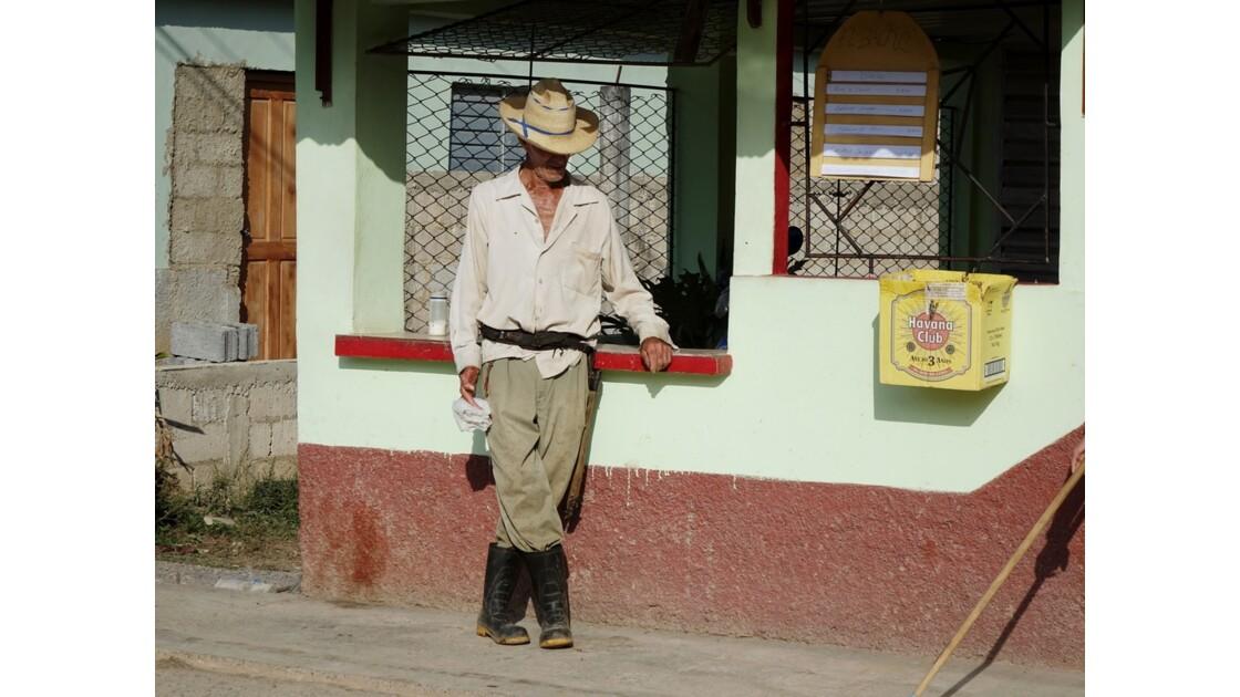 Cuba le cow boy de Vinales 1