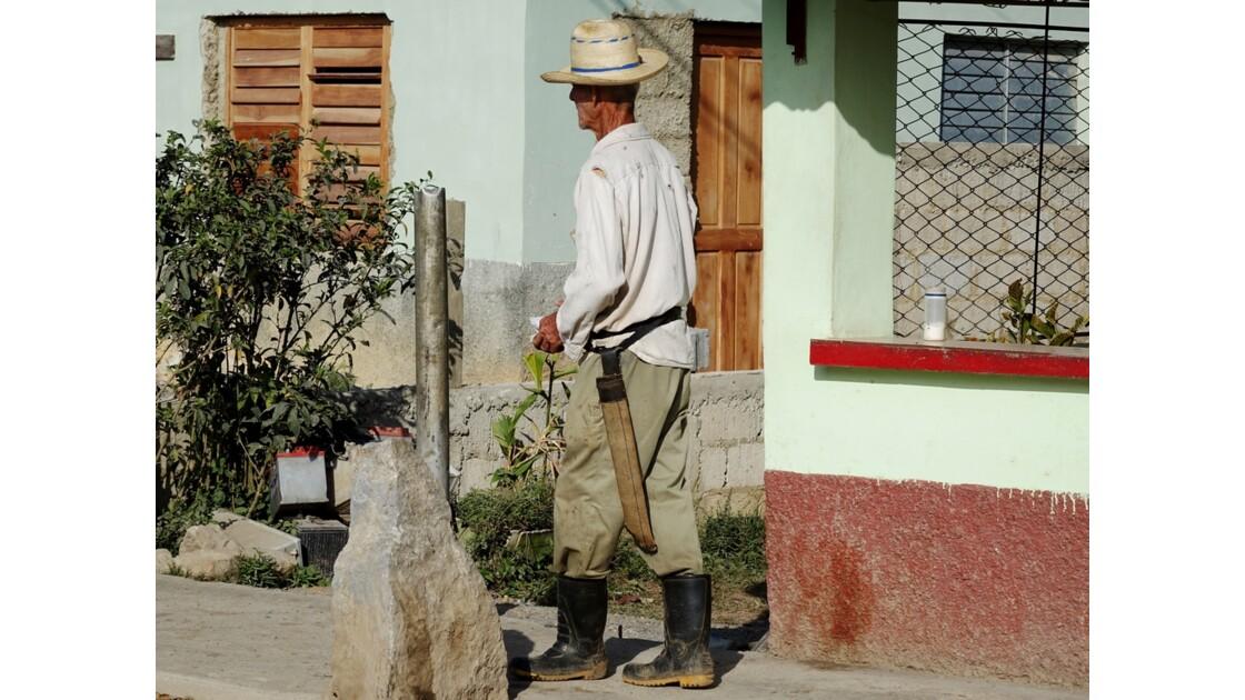 Cuba le cow boy de Vinales 2