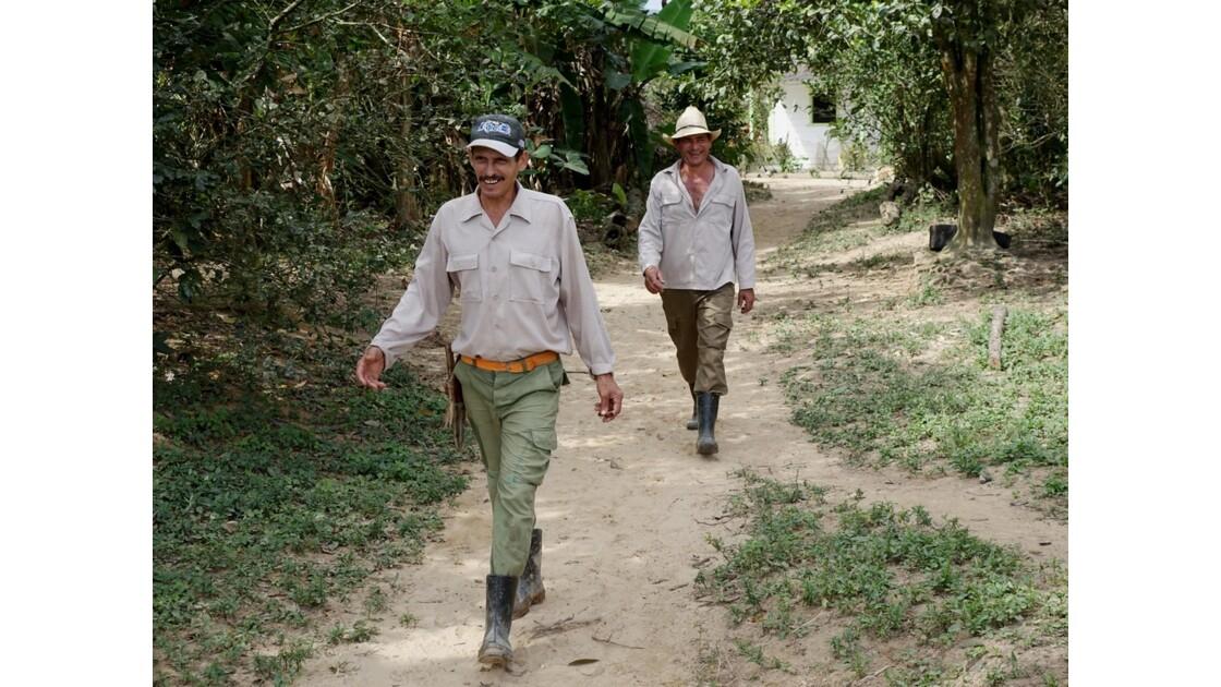 Cuba Vinales Accueil à la ferme d'Alix