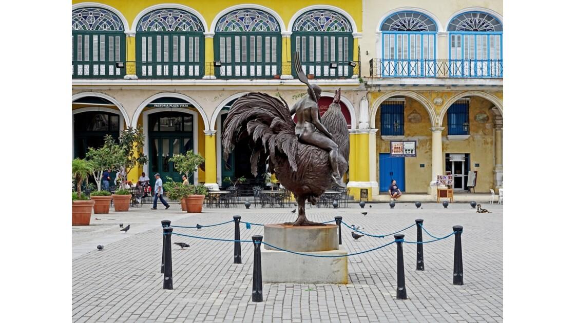 Cuba La Havane Plaza Vieja 2