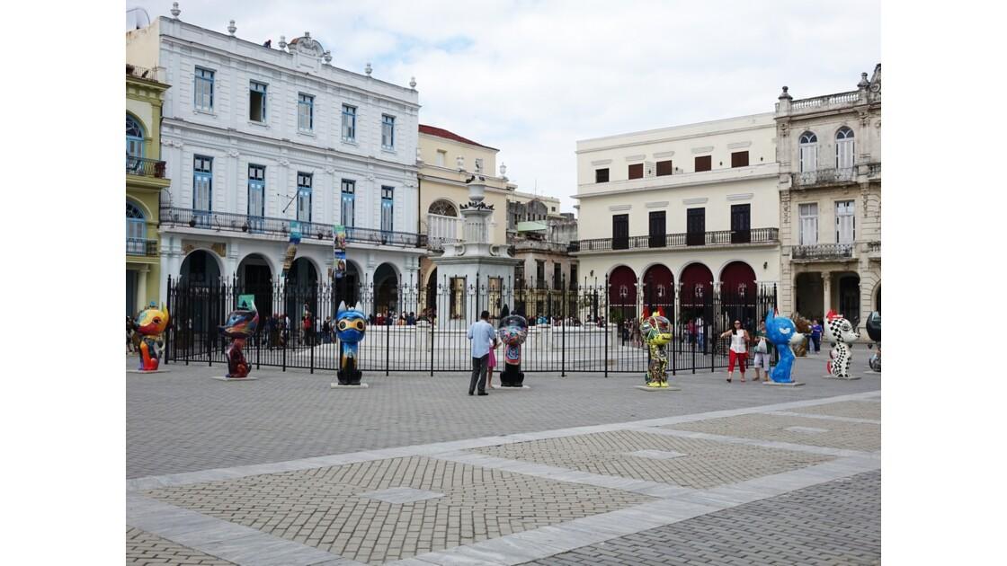 Cuba La Havane Plaza Vieja 3