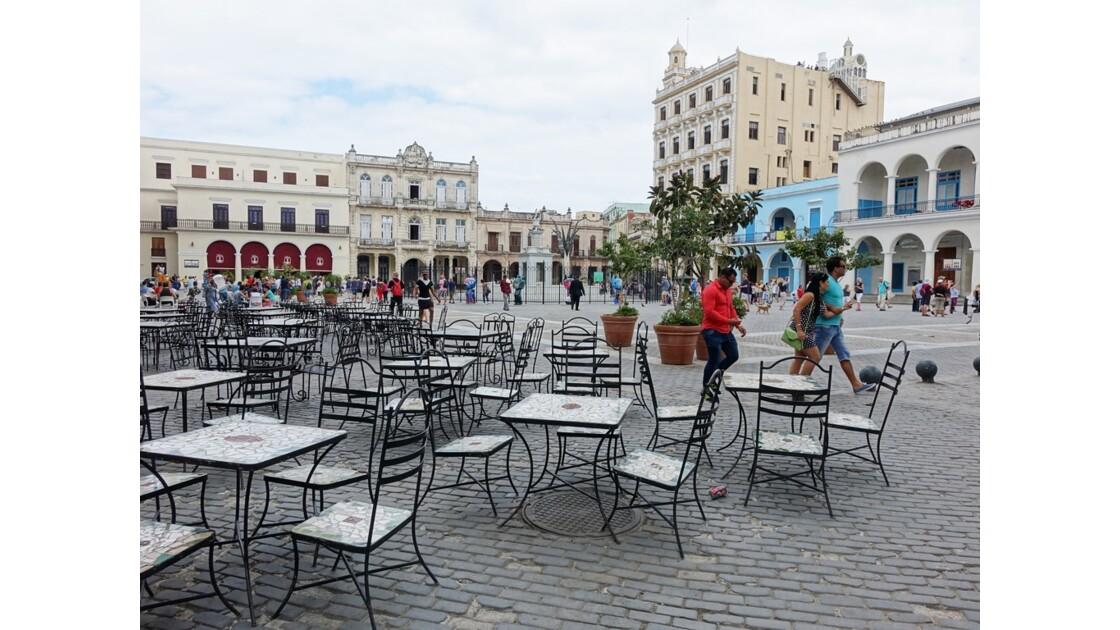 Cuba La Havane Plaza Vieja 4