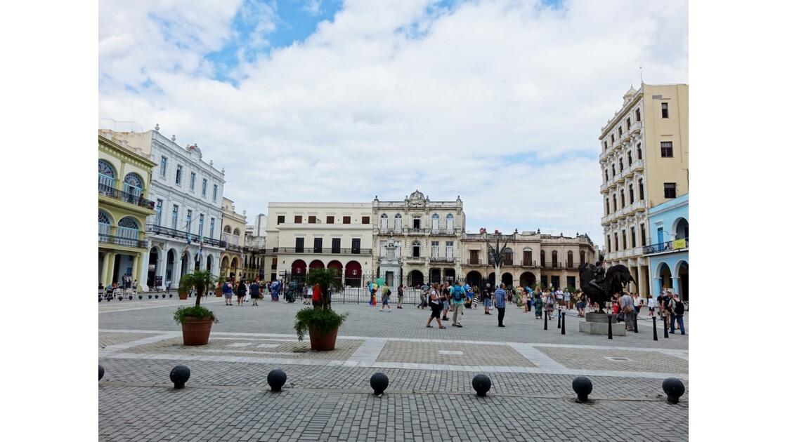 Cuba La Havane Plaza Vieja 5