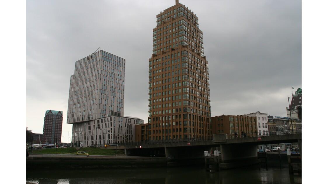 architecture moderne à Rotterdam