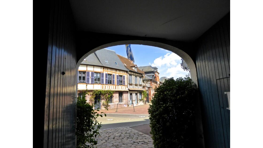 Lyons La Forêt classé parmi les plus beaux villages de France, en Normandie