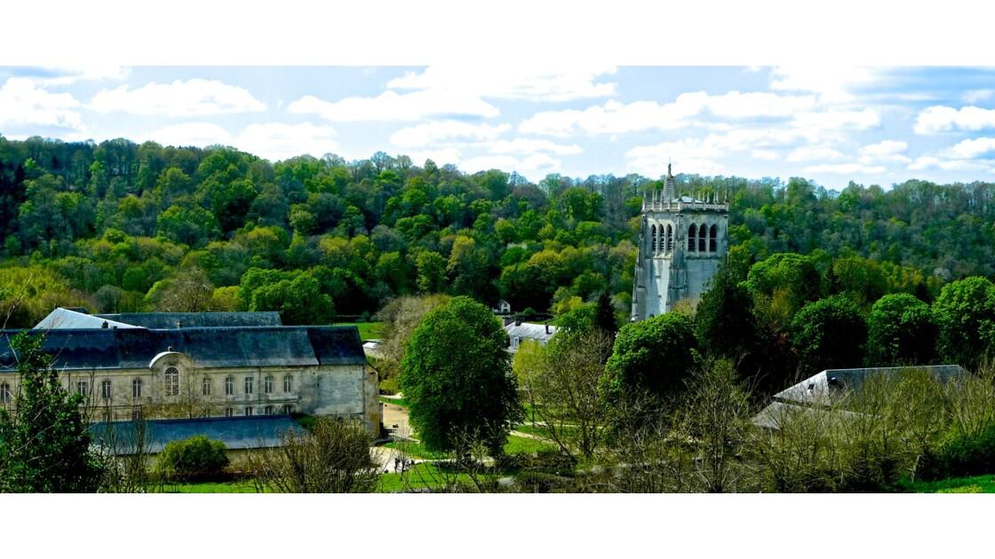 Le Bec Hellouin, classé parmi les plus beaux villages de France, en Normandie