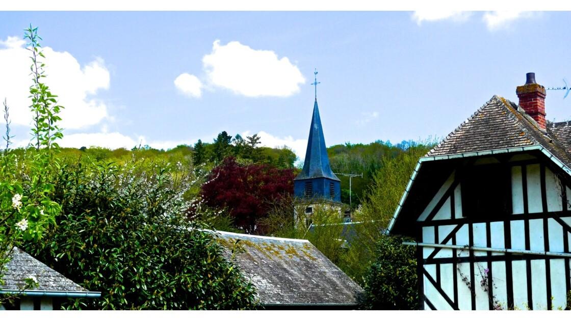 Le Bec Hellouin, classé parmi les plus beaux villages de France