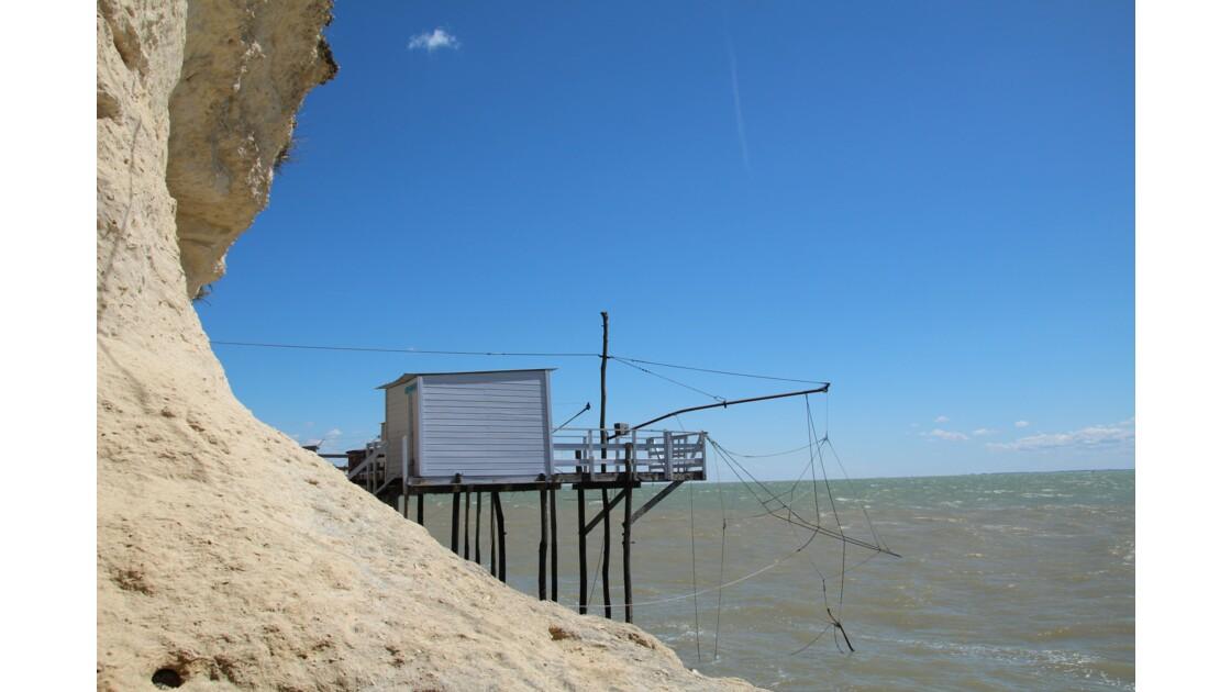 Meschers cabanes de pêcheurs au carrelet