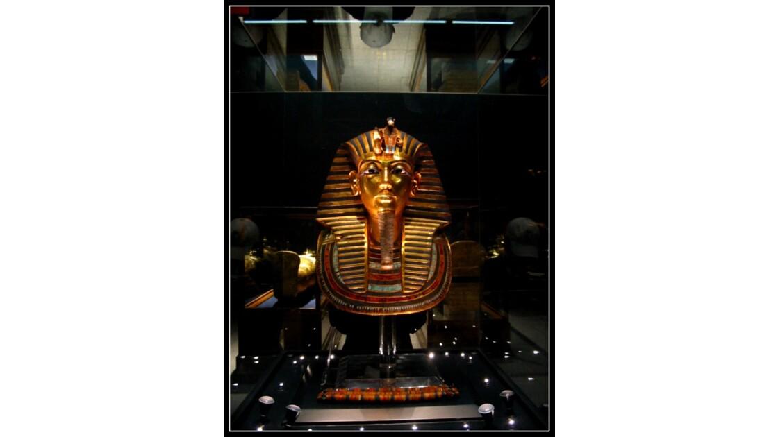 Le pharaon au Musée du Caire