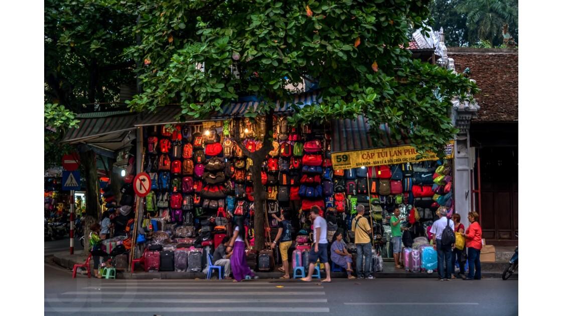 Rue des marchands de sacs, Hanoi
