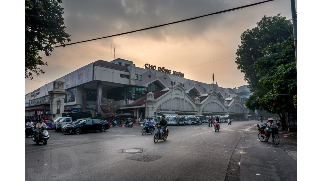 Marché central de Hanoi