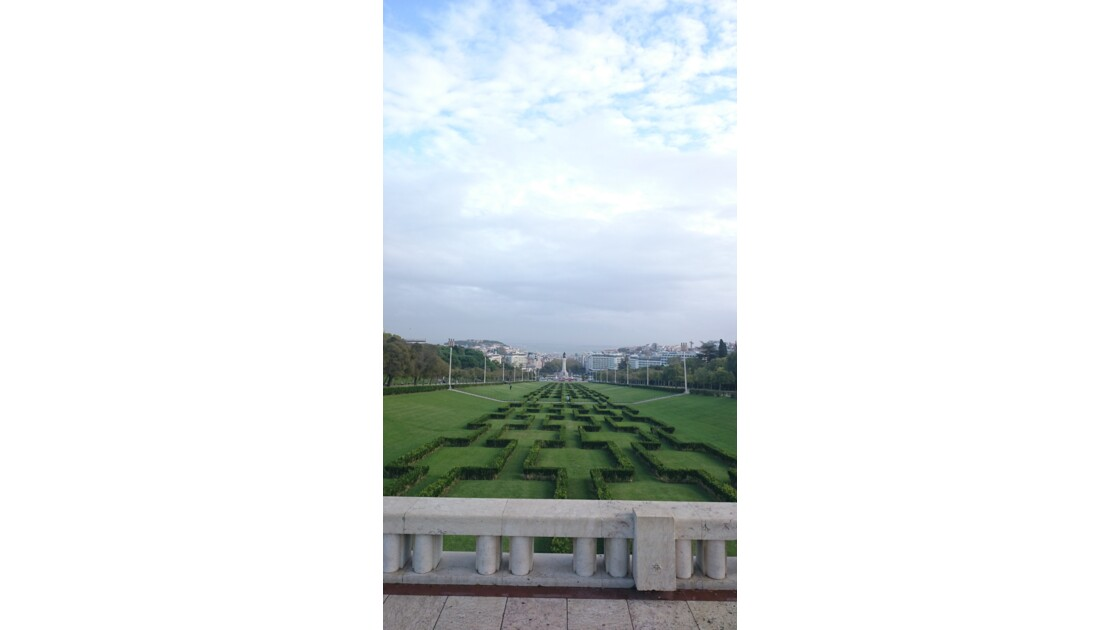 Parque Eduardo VII Lisbonne